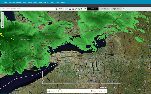 Click to view the Interactive Weather Radar
