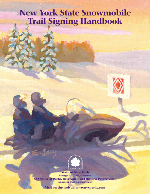 New York State Snowmobile Trail Signing Handbook